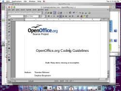 Open Office 2.4.1