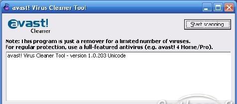 avast Virus Cleaner image