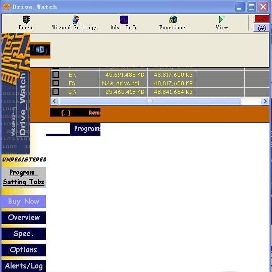 image DriveWatch 1.2.3 123,