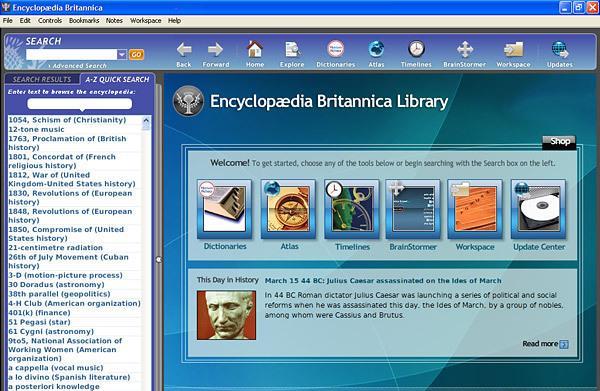 Encyclopedia Britannica Deluxe 2009 image