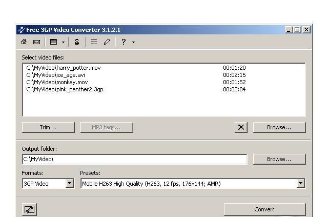 Download Converter 3gp