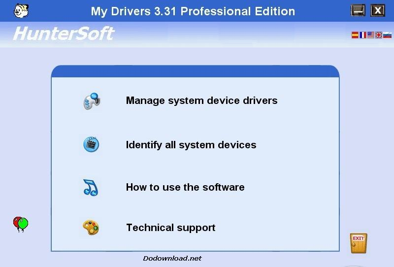 My Drivers 3.31 image, image for My Drivers,