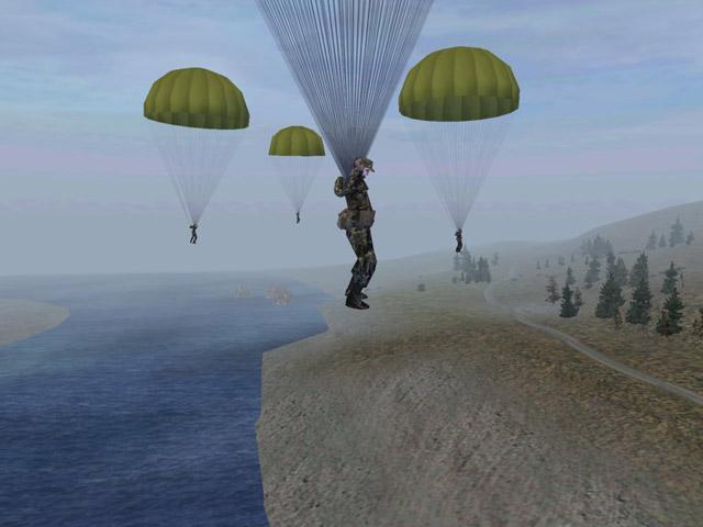 Operation Flashpoint Parachute