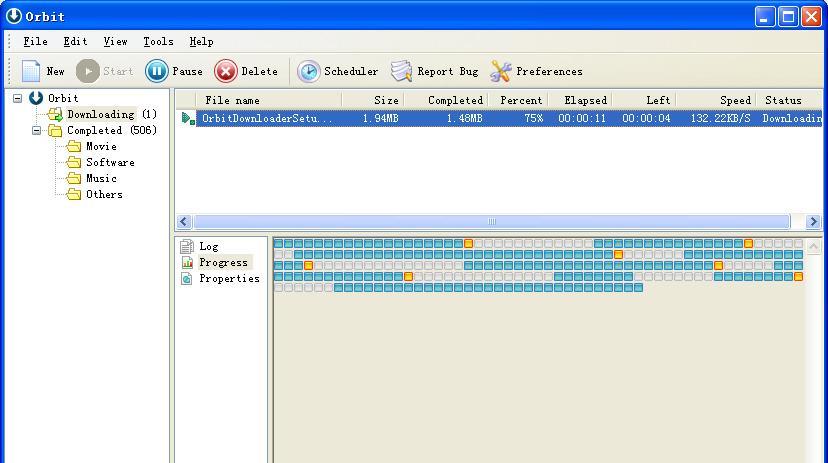 Orbit Downloader image,image for Orbit Downloader 2.8.1,