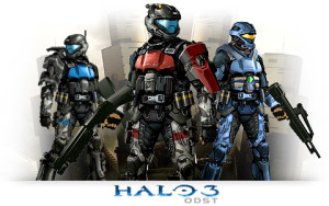Halo 3 ODST Orbital Drop